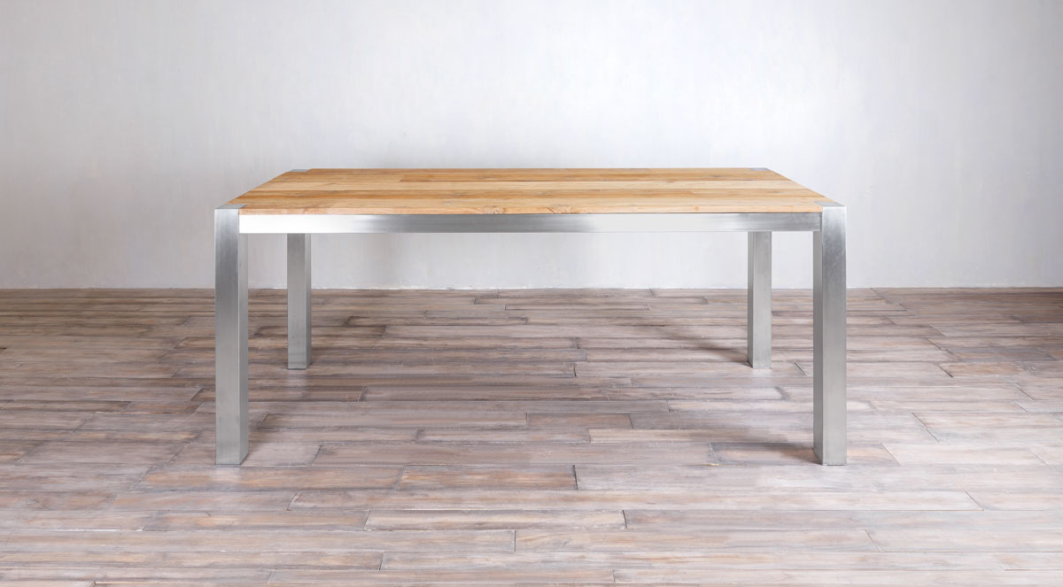 Stainless Tables Marie Albert Home - 10 ft stainless steel table