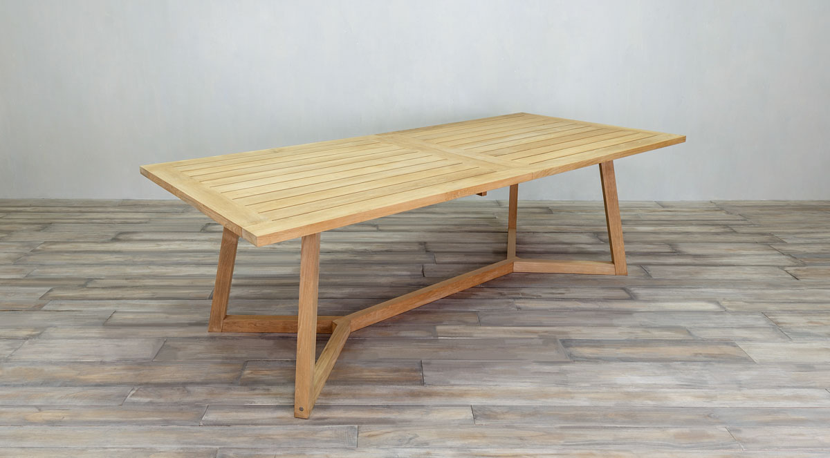 outdoor wood dining table. Outdoor Furniture: Dining Collection Wood Table D